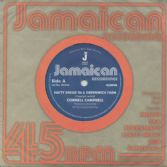 Cornel Campbell - Natty Dread In A Greenwich Farm / version (Jamaican Recordings) UK 7""